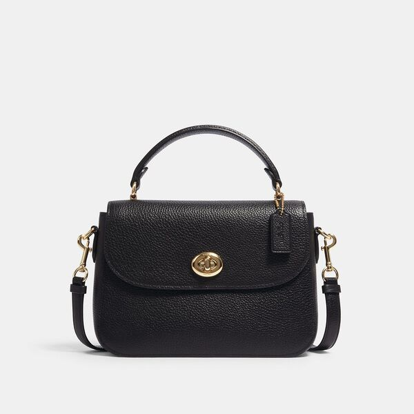 Marlie Top Handle Satchel, IM/BLACK, hi-res