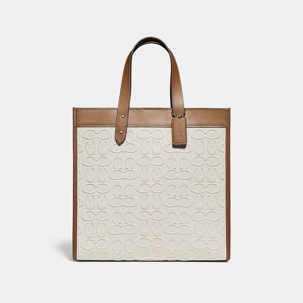 Field Tote In Signature Canvas