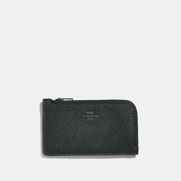 Small L-Zip Card Case