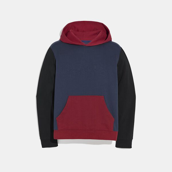 Pop Horse And Carriage Hoodie, Navy/Dark Cardinal, hi-res