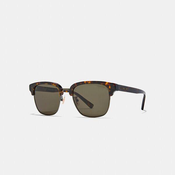 Signature Workmark Retro Frame Sunglasses, DARK TORTOISE / GOLD, hi-res