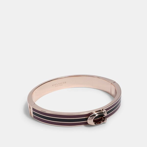 Signature Bangle, RE/ROSE/MIDNIGHT NAVY, hi-res