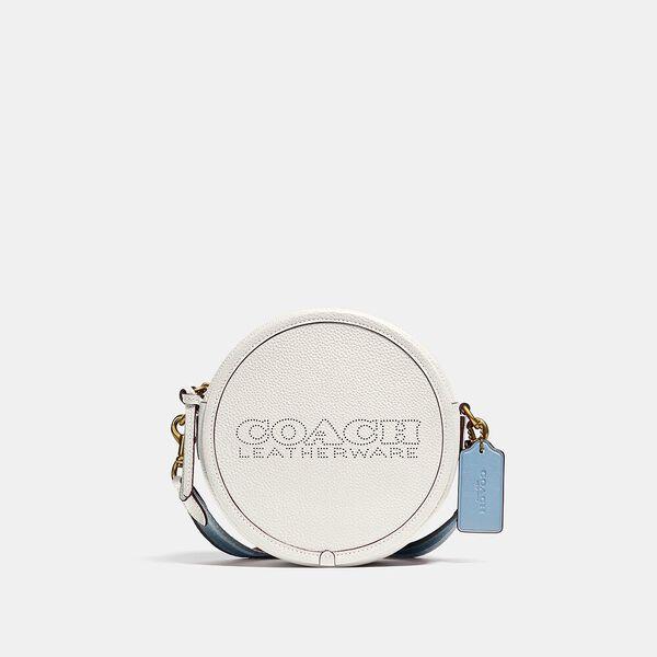 Kia Circle Bag In Colorblock, B4/CHALK MULTI, hi-res