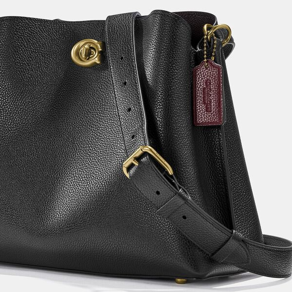 Willow Shoulder Bag, B4/BLACK, hi-res