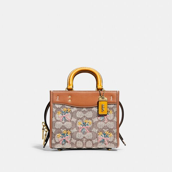 Rogue 17 In Signature Textile Jacquard With Bouquet Motif Embroidery