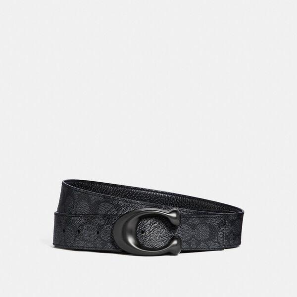 Signature Buckle Cut-To-Size Reversible Belt, 38mm