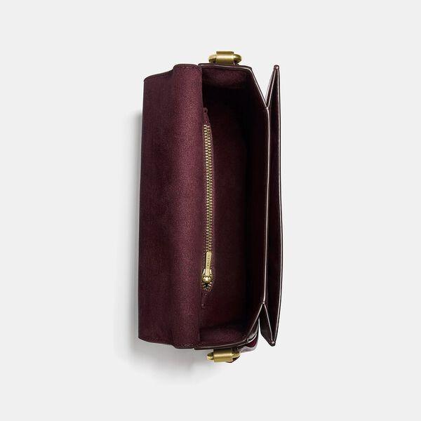 Hutton Saddle Bag In Colorblock, B4/CONFETTI PINK MULTI, hi-res
