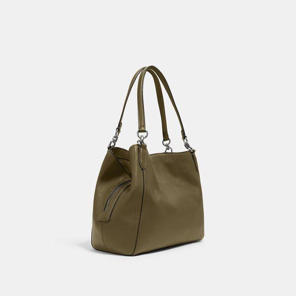Hallie Shoulder Bag, QB/KELP, hi-res