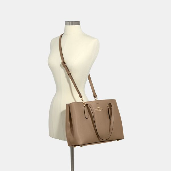 Avenue Carryall, IM/TAUPE WINE, hi-res