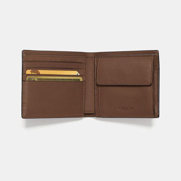Coin Wallet, DARK SADDLE, hi-res