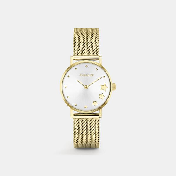 Perry Gold Mesh Watch