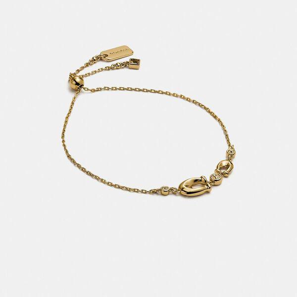Signature Crystal Slider Bracelet