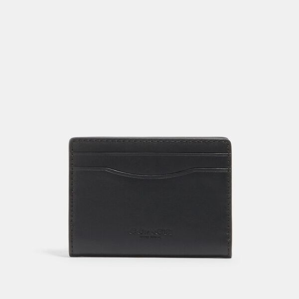 Magnetic Card Case, QB/BLACK, hi-res