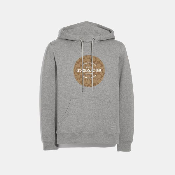 Pullover Hoodie, HEATHER GREY, hi-res