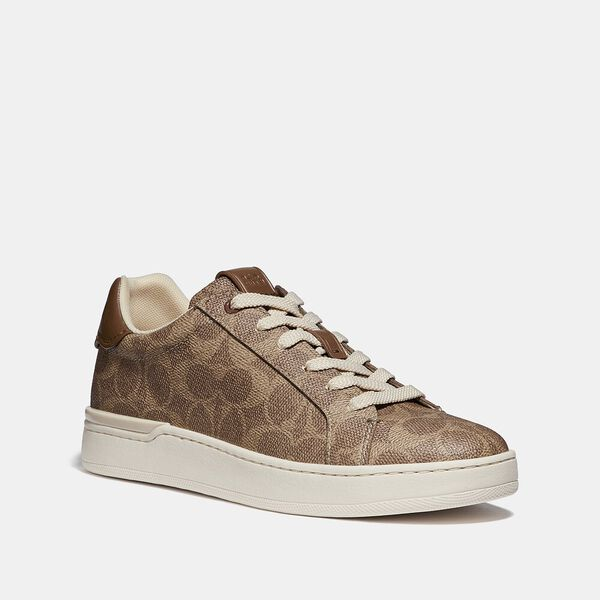 Lowline Luxe Low Top Sneaker, TAN, hi-res
