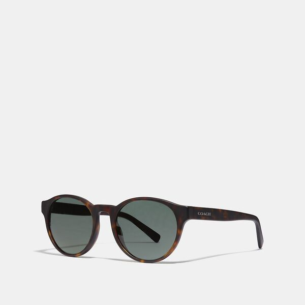 Wythe Round Sunglasses, GREEN SOLID, hi-res