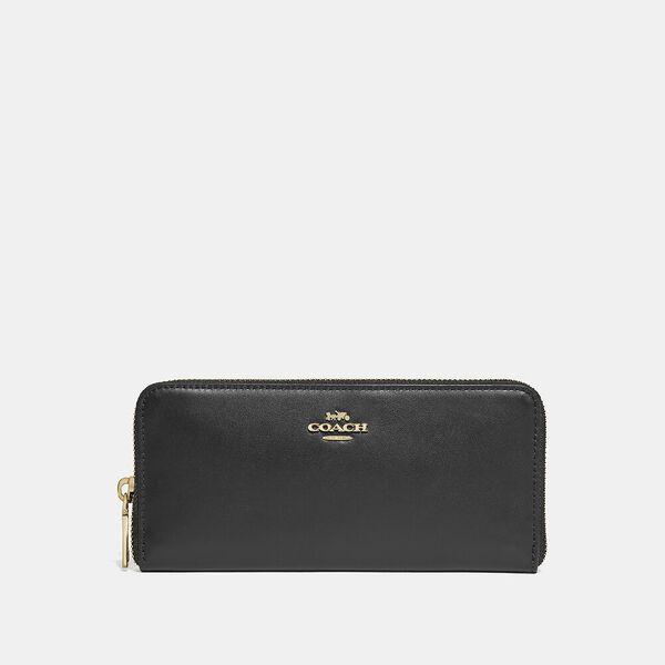 Slim Accordion Zip Wallet
