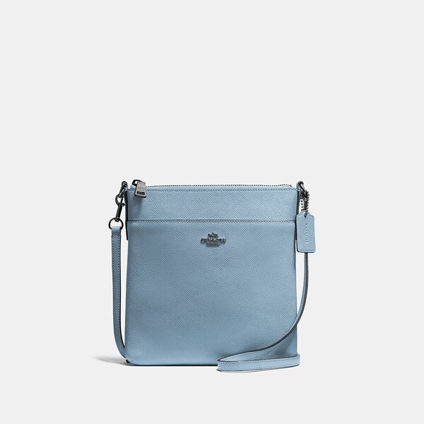 Kitt Messenger Crossbody, V5/AZURE, hi-res
