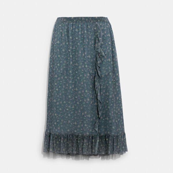 Crepon Skirt