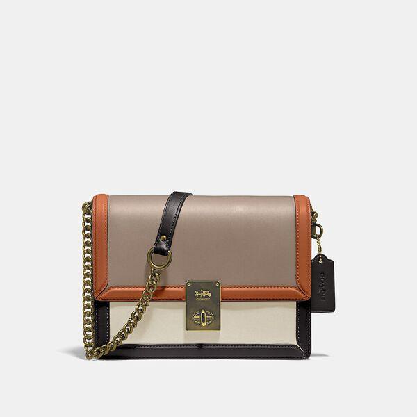 Hutton Shoulder Bag In Colorblock