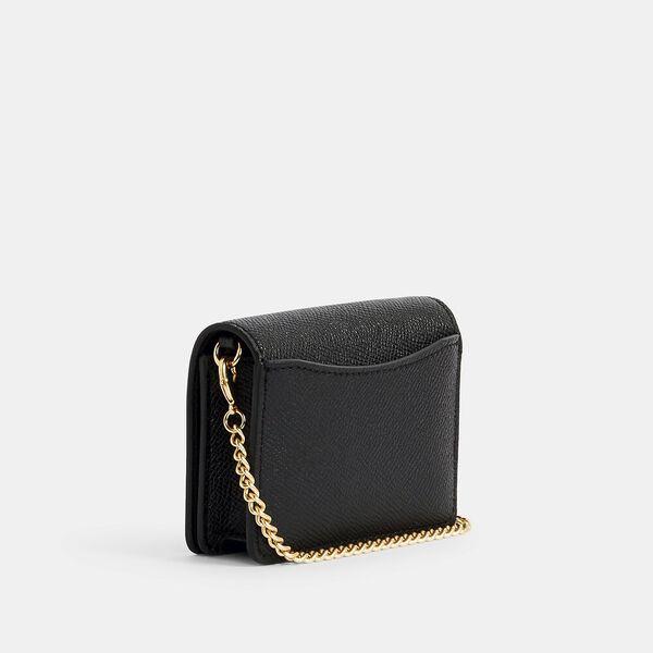 Mini Wallet On A Chain, IM/BLACK, hi-res