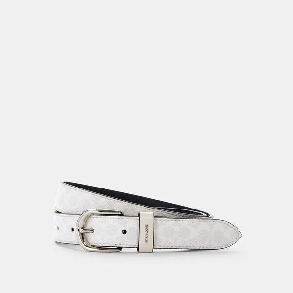 Harness Buckle Belt, 25mm, SV/CHALK, hi-res