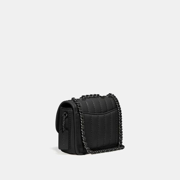 Madison Shoulder Bag 16 With Quilting, V5/BLACK, hi-res