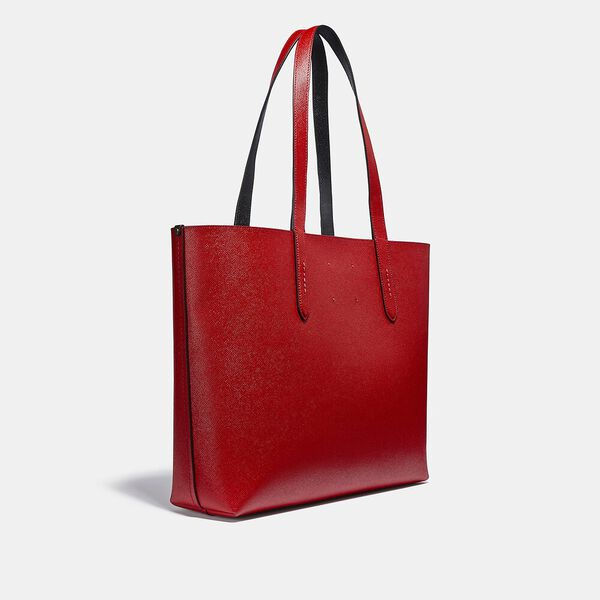 Disney Mickey Mouse X Keith Haring Highline Tote, B4/ELECTRIC RED, hi-res