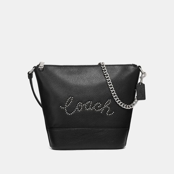 Small Paxton Duffle With Studded Coach Script