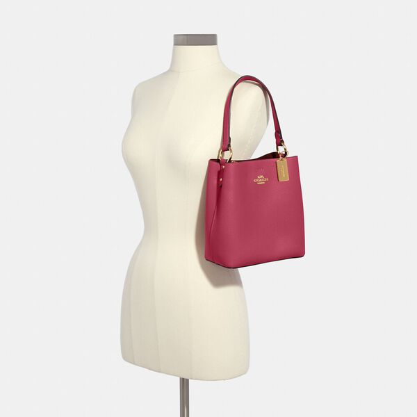 Small Town Bucket Bag, IM/BRIGHT VIOLET, hi-res