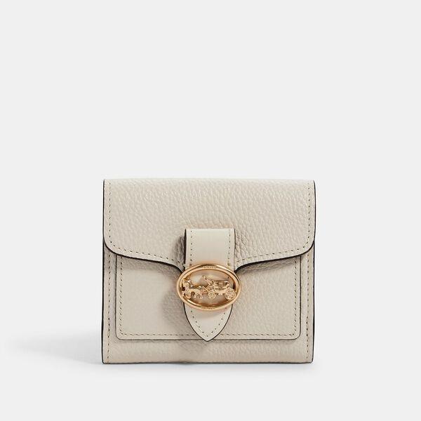 Georgie Small Wallet, IM/CHALK, hi-res