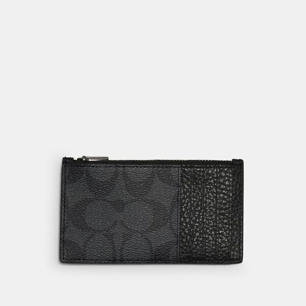 Coach x Marvel Zip Card Case With Signature Canvas Detail And Black Panther, QB/BLACK MULTI, hi-res