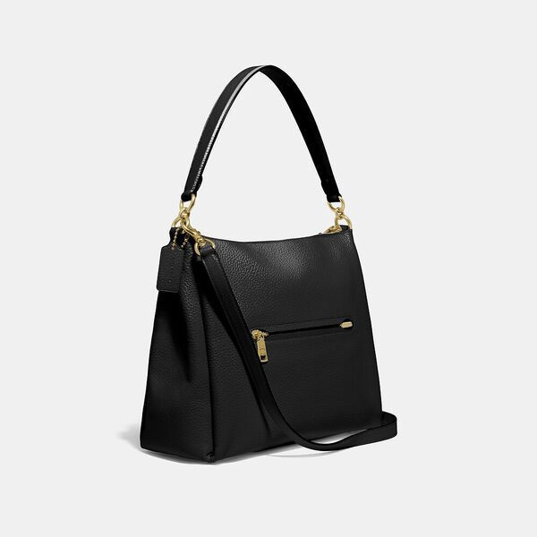 Shay Shoulder Bag, B4/BLACK, hi-res