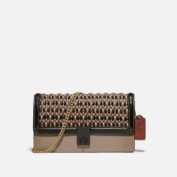 Hutton Clutch With Weaving