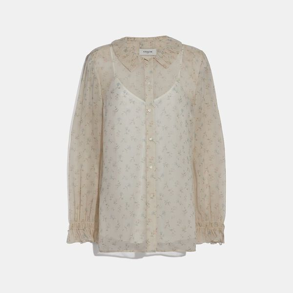 Dot Georgette Blouse