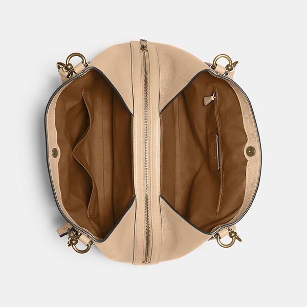 Hallie Shoulder Bag, IM/TAUPE, hi-res