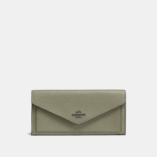 Soft Wallet, V5/LIGHT FERN, hi-res