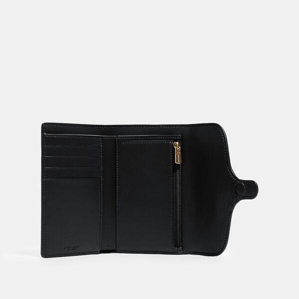 Jade Medium Envelope Wallet, IM/BLACK, hi-res
