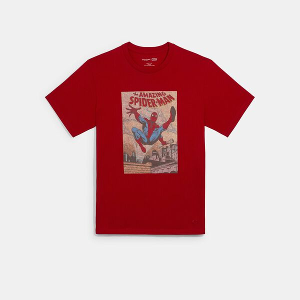 Coach x Marvel Spider-Man Comic T-Shirt