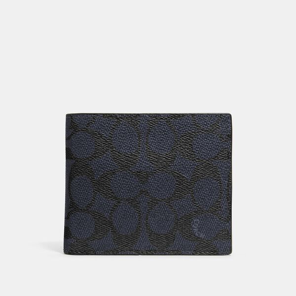 3-In-1 Wallet In Signature Canvas