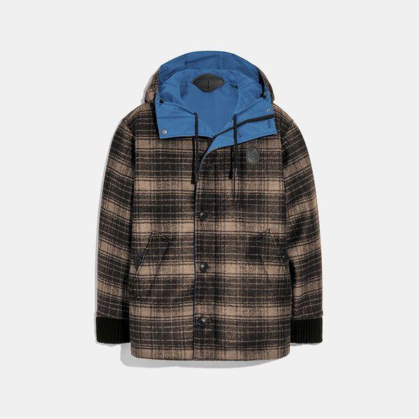 Reversible Plaid Jacket