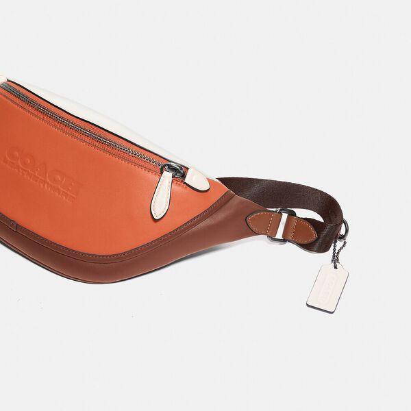 League Belt Bag In Colorblock, JI/SPICE ORANGE MULTI, hi-res