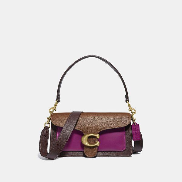 Tabby Shoulder Bag 26 In Colorblock