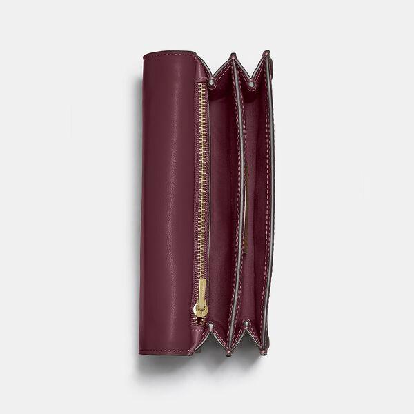 Riley Convertible Belt Bag In Colorblock Signature Canvas, B4/TAN RUST, hi-res