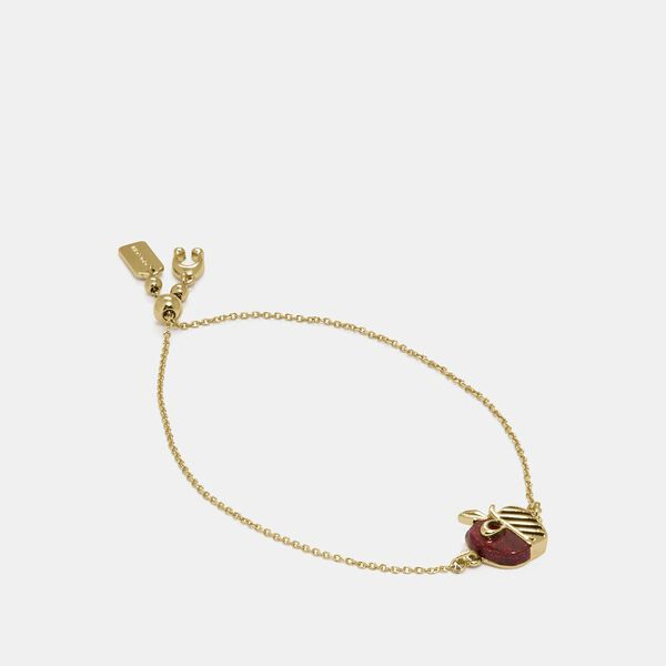 Apple Slider Bracelet
