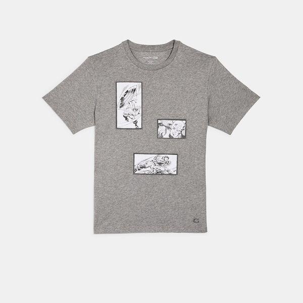 Coach x Marvel Captain America T-Shirt