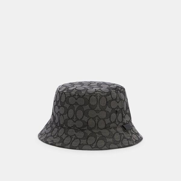 Signature Bucket Hat, BLACK SIGNATURE, hi-res