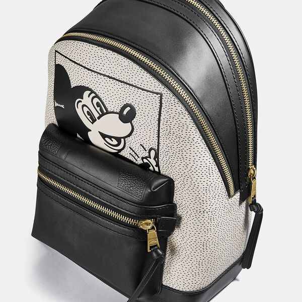 Disney Mickey Mouse X Keith Haring Academy Backpack, OL/BLACK MULTI, hi-res