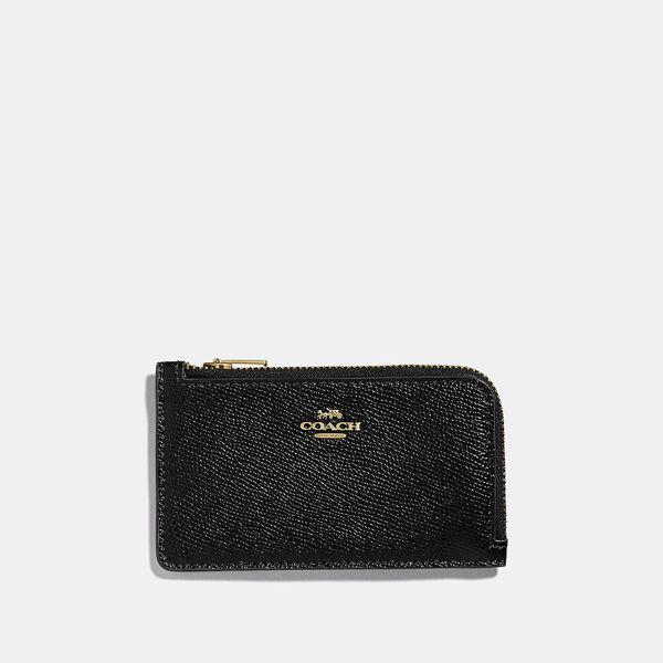 Small L-Zip Card Case