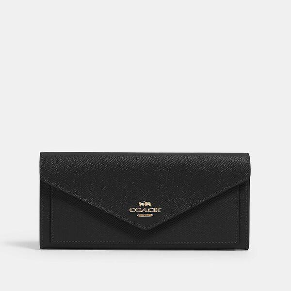 Envelope Wallet, IM/BLACK, hi-res